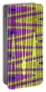 Blue Sky And Color Squares Abstract,#4 Portable Battery Charger
