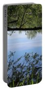 Blue Sky Reflection Portable Battery Charger