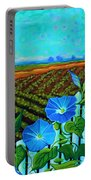 Blue Sky Smiling Portable Battery Charger