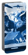 Blue Skynyrd Smoke Portable Battery Charger