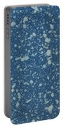 Blue Speckle Portable Battery Charger