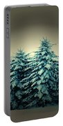Blue Spruce-maine Evergreens Portable Battery Charger