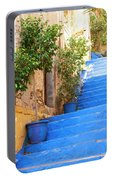 Blue Stairs Portable Battery Charger