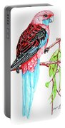 Blue Tail Parrot - Green Day Portable Battery Charger