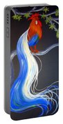 Blue Tail Fantasy Portable Battery Charger
