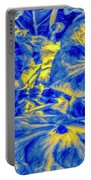 Blue Tango Floral Portable Battery Charger