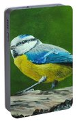 Blue Tit Bird Portable Battery Charger