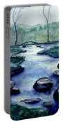 Blue Tranquility Portable Battery Charger