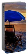 Blue Umbrella Beach Chairs Sunrise Portable Battery Charger