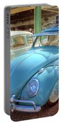 Blue Vw Portable Battery Charger