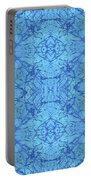 Blue Water Batik Tiled Portable Battery Charger