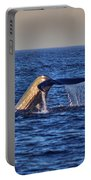 Blue Whales Tail Portable Battery Charger