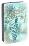 Blue Wisteria Portable Battery Charger