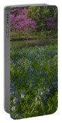 Bluebells And Redbuds Portable Battery Charger