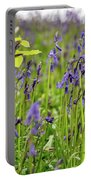 Bluebells In Judy Woods Portable Battery Charger