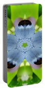 Blueberry Kaleidoscope Portable Battery Charger