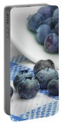 Blueberry - Still Life Portable Battery Charger