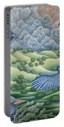 Bluebirds Of Happiness Portable Battery Charger