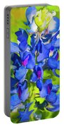 Bluebonnet Fantasy Portable Battery Charger