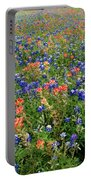 Bluebonnets And Paintbrushes 3 - Texas Portable Battery Charger