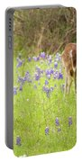 Bluebonnets And Whitetails Portable Battery Charger
