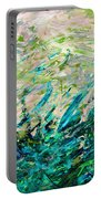 Bluegrass Sunrise - Jade B-right Portable Battery Charger