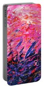 Bluegrass Sunrise - Rose B-right Portable Battery Charger