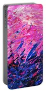 Bluegrass Sunrise - Violet B-right Portable Battery Charger