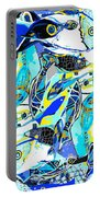 Blues Fishes Portable Battery Charger