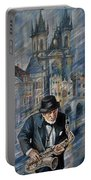 Blues Of Prague. Portable Battery Charger