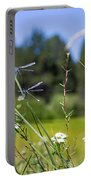 Bluff Lake Wild Flowers 2 Portable Battery Charger