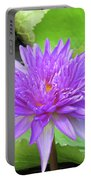 Blumen Des Wassers - Flowers Of The Water 17 Portable Battery Charger