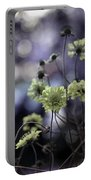 A Meadow's Blur Of Nature Portable Battery Charger