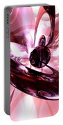 Blushing Abstract Portable Battery Charger