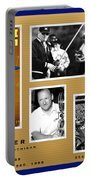 Bo Schembechler Legend Five Panel Portable Battery Charger