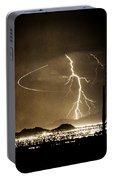 Bo Trek Lightning Art Portable Battery Charger