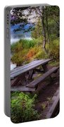 Boardwalk At Trillium Lake Portable Battery Charger