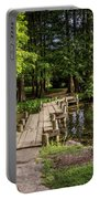 Boardwalk Bridge Maymont Japanese Garden Portable Battery Charger