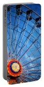 Boardwalk Ferris Wheel At Dusk Portable Battery Charger