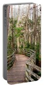 Boardwalk Through Corkscrew Swamp Portable Battery Charger