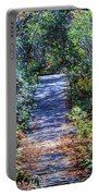 Boardwalk Through The Brambles Portable Battery Charger