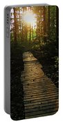 Boardwalk To The Sun Portable Battery Charger