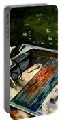 Boat In Fog 2 Portable Battery Charger
