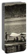 Boat - Lago De Coatepeque, El Salvador Portable Battery Charger