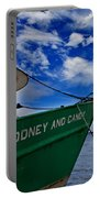 Boat Love In Apalachicola Portable Battery Charger