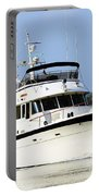 Boat On Pellicer Creek Portable Battery Charger
