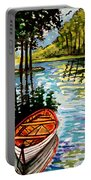 Boat On The Bayou Portable Battery Charger
