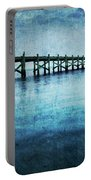 Boathouse Blue Portable Battery Charger