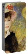 Boating Couple Aline Charigot And Renoir 1881 Portable Battery Charger