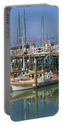 Boats At Fisherman Portable Battery Charger